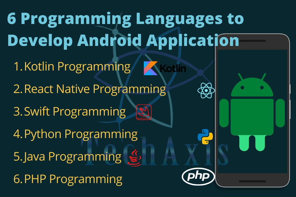 6 Programming Languages used to Develop Android Application