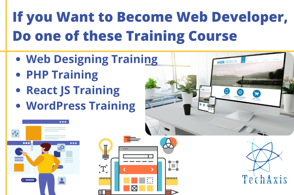 List of Trainings to Become Web Developer